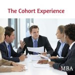 The cohort experience in eMBA classes may be a huge advantage over the traditional MBA experience.