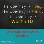 What makes an eMBA worth it?