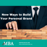 new ways to build your personal brand with an emba