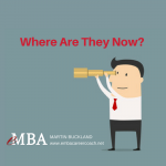 where are they now - emba career coach