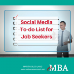 Social Media To-Do List for Job Seekers
