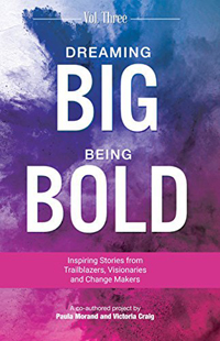 dreaming big being bold book cover