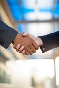 handshake for business
