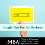 Google Tips for Job Seekers