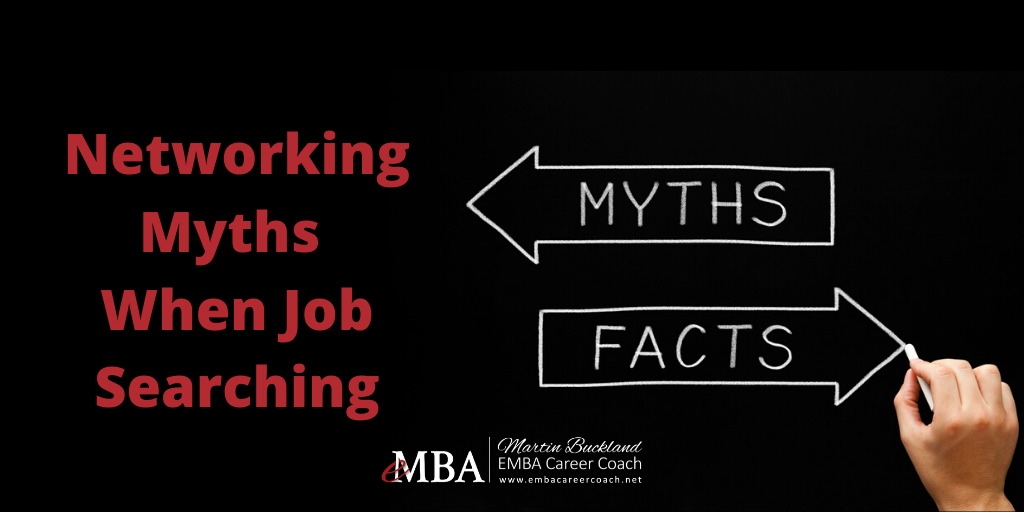 Networking Myths when Job Searching